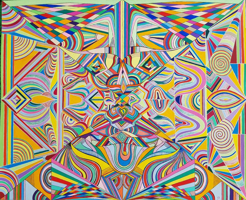 Monique BERTINA - Peinture - Joie de Vivre