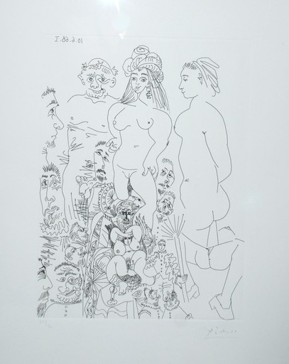 Pablo PICASSO - Print-Multiple - Series 347, Bloch 1633