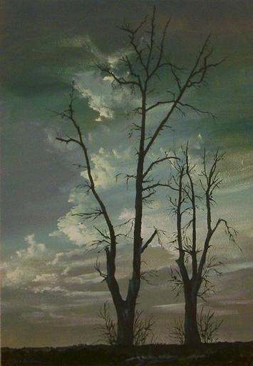 Walter Josef BOSCHAN - Painting - Kahle Gesellen