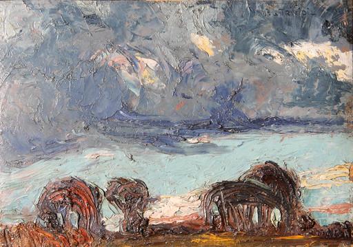 Pierre LE TRIVIDIC - Pittura - Les plaines de Buchy