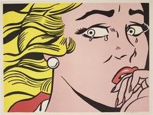 Roy LICHTENSTEIN - Estampe-Multiple - Crying Girl