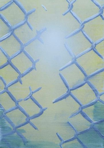 Tim TRANTENROTH - Painting - Zaun L