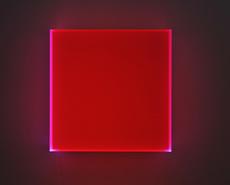 Regine SCHUMANN - Sculpture-Volume - Colormirror Karlsruhe red