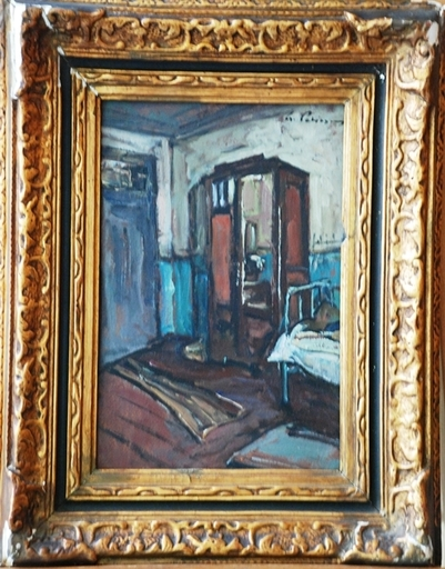 Gheorghe PETRASCU - Painting - INTERIOR