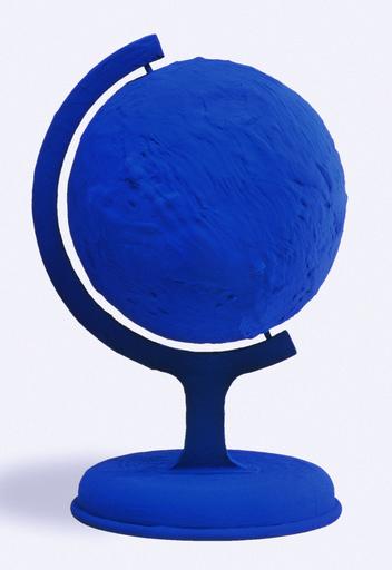 Yves KLEIN - Sculpture-Volume - GLOBE TERRESTRE BLEU (BLUE EARTH) RP 7