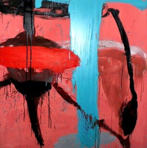 Tony SOULIÉ - Pintura - Red blinded