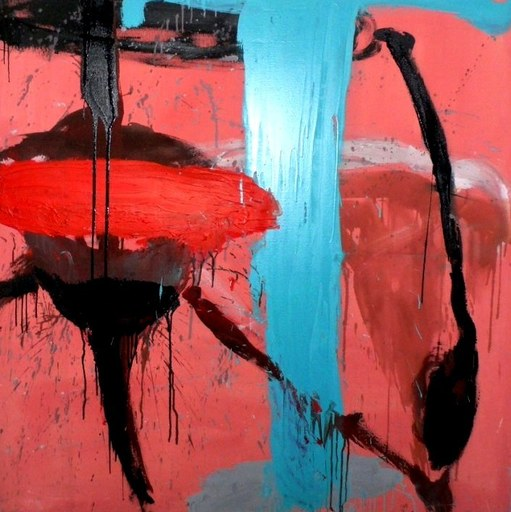 Tony SOULIÉ - Pintura - Red blinded