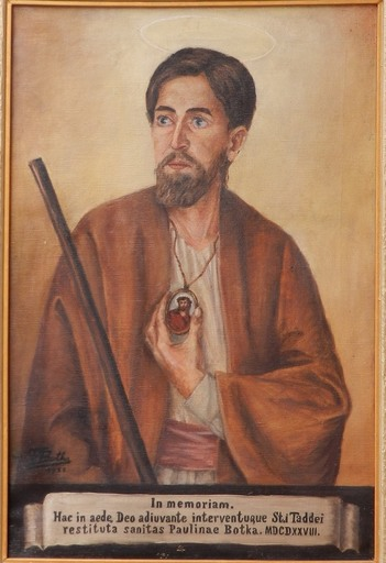 Theodor BOTKA - Painting - Saint Tadeah