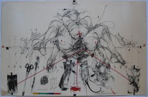 Vladimir VELICKOVIC - 版画 - LITHOGRAPHIE 75 SIGNÉE CRAYON NUM/190 HANDSIGNED LITHOGRAPH