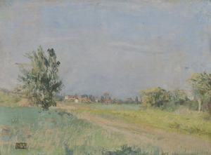 Édouard VUILLARD - Peinture - Alentour de Créteil