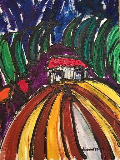 Christian DURIAUD - Pintura - La tramontane