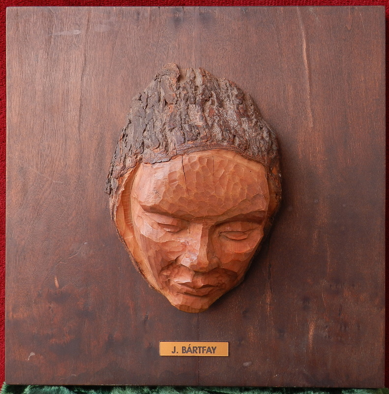 Julius BARTFAY - Sculpture-Volume -  Girl's head