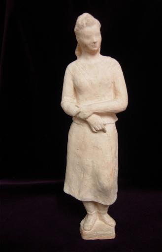 Paul CORNET - Sculpture-Volume - Femme debout