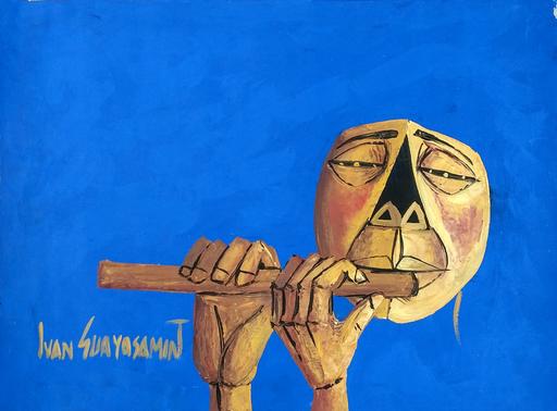 Ivan GUAYASAMIN - Pittura - Unknown Title