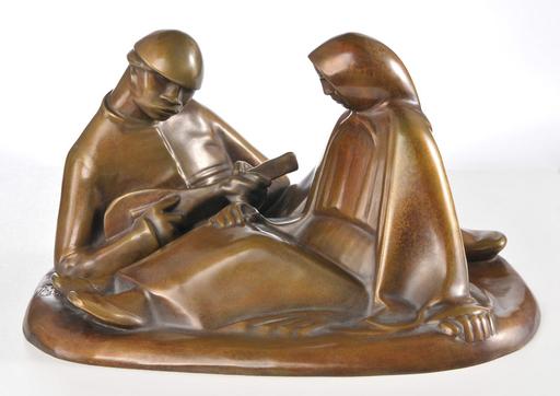 Ernst BARLACH - Escultura - Russisches Liebespaar
