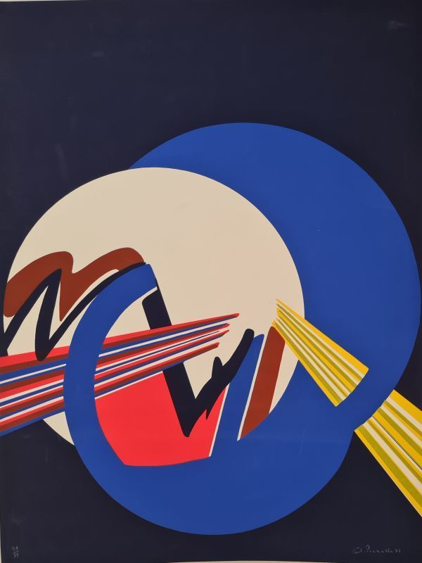 James PICHETTE - Estampe-Multiple - Sans titre