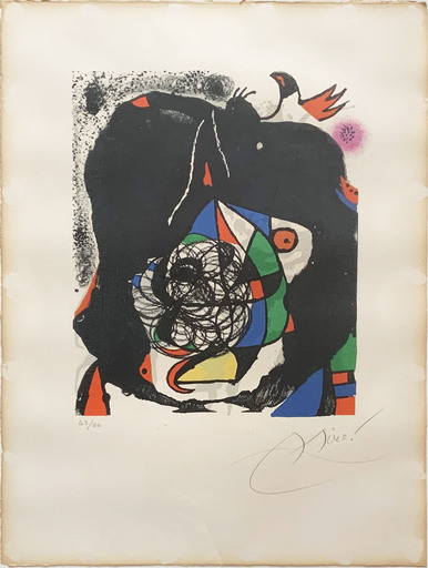 Joan MIRO - Estampe-Multiple - Revolutions II