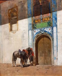 Alberto PASINI - Painting - L'attesa