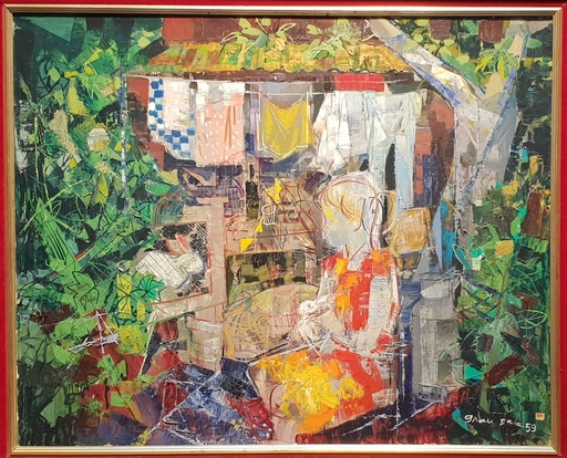 Emilio GRAU-SALA - Peinture - Honfleur - Normandía