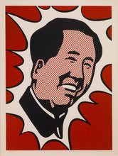 Roy LICHTENSTEIN - Estampe-Multiple - The Adventures of Mao on the Long March