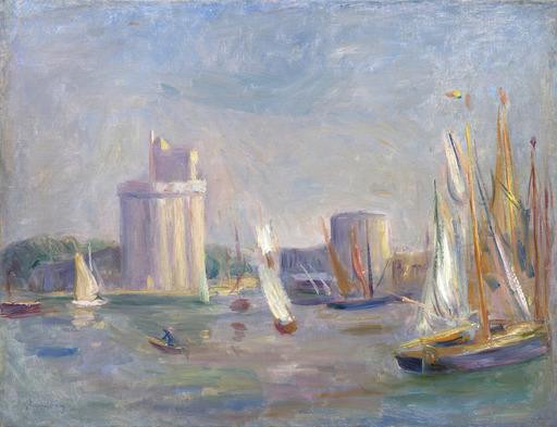 Pierre-Auguste RENOIR - Painting - La Rochelle