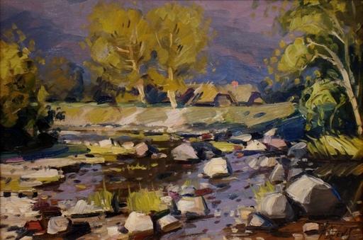 Albins DZENIS - Pittura - River Bay