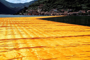 CHRISTO - Photo - Lago d'Iseo - WV21