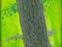 Alex KATZ (1927) - Springtime