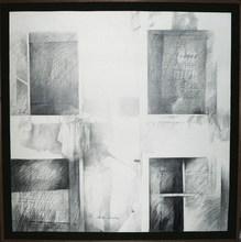 Pedro CANO - Drawing-Watercolor -  Quattro finestre I