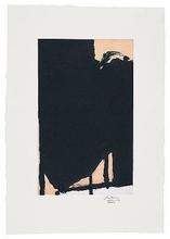 Robert MOTHERWELL - Print-Multiple - Elegy Fragment II