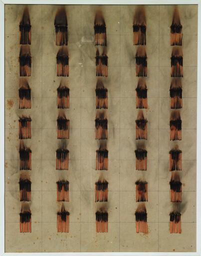 Bernard AUBERTIN - Peinture - Disegno di fuoco