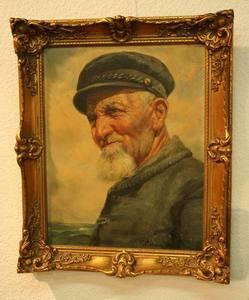 C. VON SALZEN - Peinture