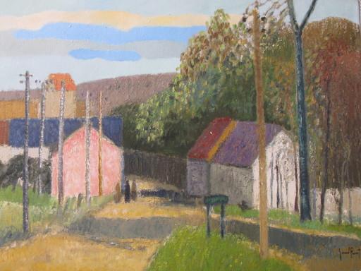 Gérard PASSET - Painting - Sur Le Port