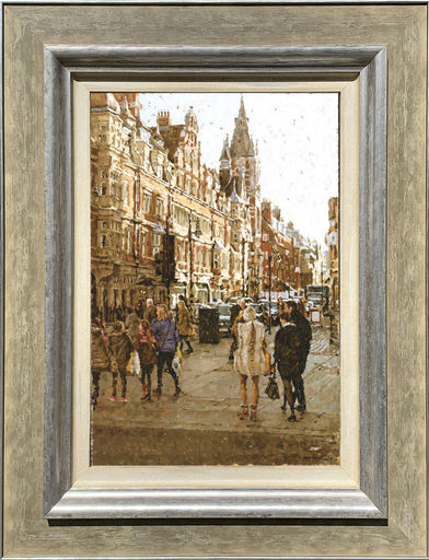 Tony KARPINSKI - Peinture - Off Oxford Street