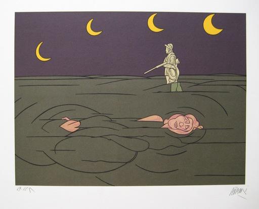 Valerio ADAMI - 版画 - LITHOGRAPHIE SIGNÉE AU CRAYON NUM/125 HANDSIGNED LITHOGRAPH