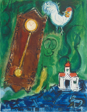 Marc CHAGALL (1887-1985) - The Rooster and the Clock