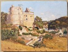 Louis Alexandre CABIÉ - Painting - Vue de Clisson