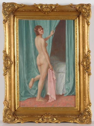 "Walter WITTING - Pintura - ""Good Night"", Oil"