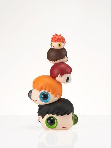 哈维尔·卡勒加 - 雕塑 - Heads