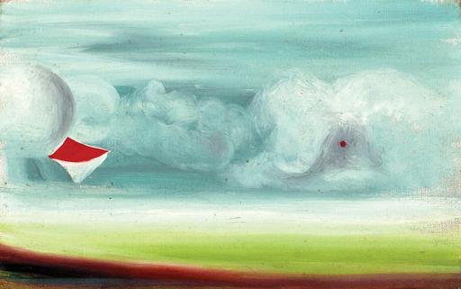 Oscar DOMINGUEZ - Painting - COMPOSICIÓN III