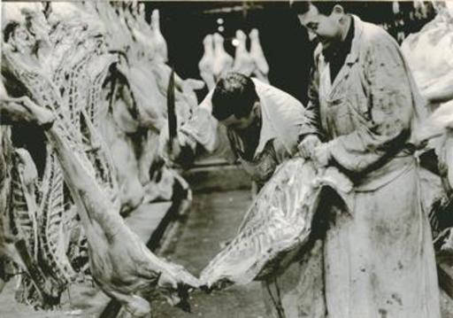 Jacques RITZ - Photo - (butcher in Paris)