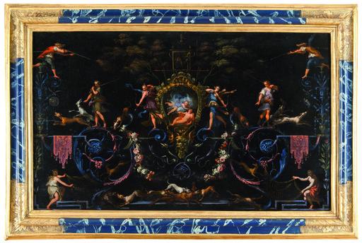 Giacomo DEL PO - Pittura - Diana ed Endimione