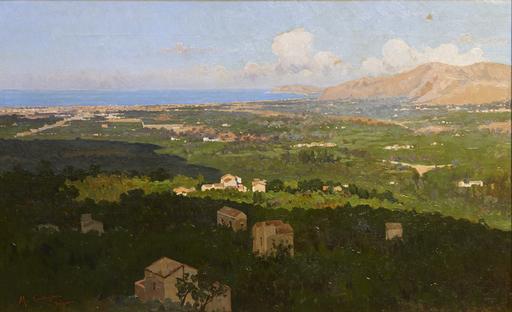 Michele CORTEGIANI - Pintura - conca d'oro