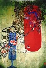 Dang LEBADANG - Print-Multiple - Flower Vase On Left