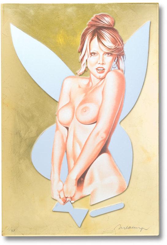 Mel RAMOS - Skulptur Volumen - Golden Delicous