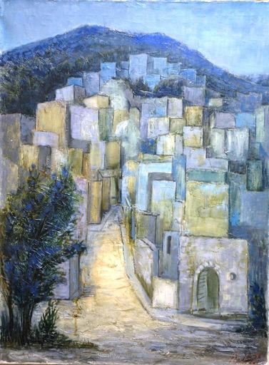 Zvi EHRMAN - Painting - Sefad View