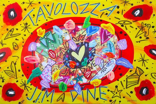 Bruno DONZELLI - Peinture - Tavolozza Jim Dine