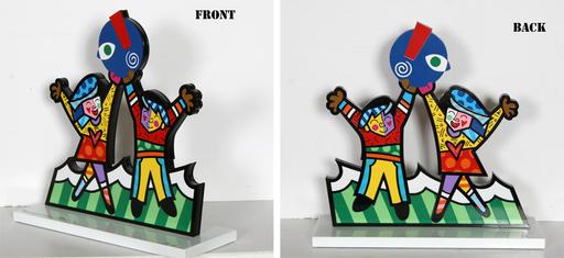 Romero BRITTO - Scultura Volume - Prototype for Miami Children's Museum