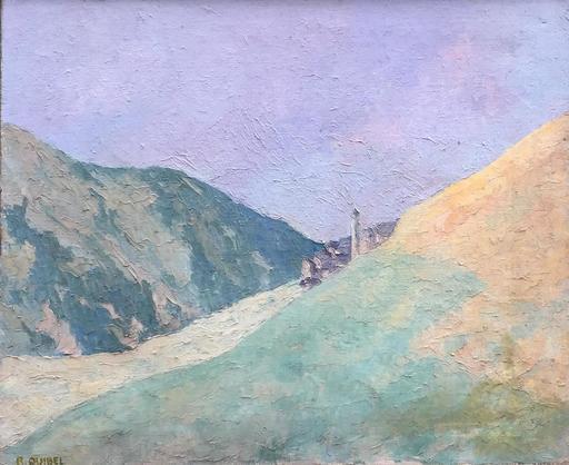Raymond QUIBEL - Pintura - paysage