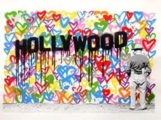 MR BRAINWASH - Estampe-Multiple - Hollywood
